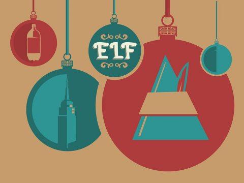 Elf Christmas Poster