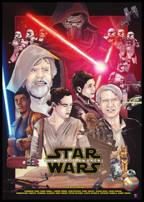 IAmShalloo Star Wars Force Awakens Poster