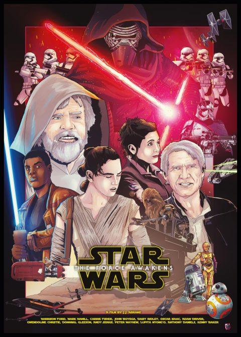 IAmShalloo Star Wars Force Awakens Poster