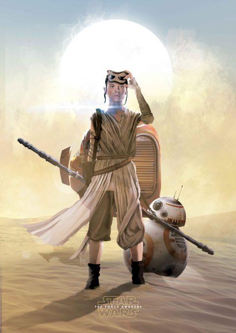 Rey & BB-8 Poster