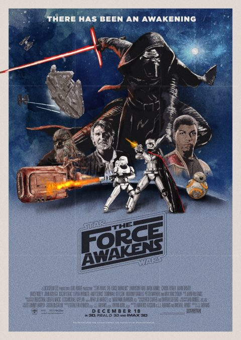 STAR WARS – THE FORCE AWAKENS – RETRO VERSION