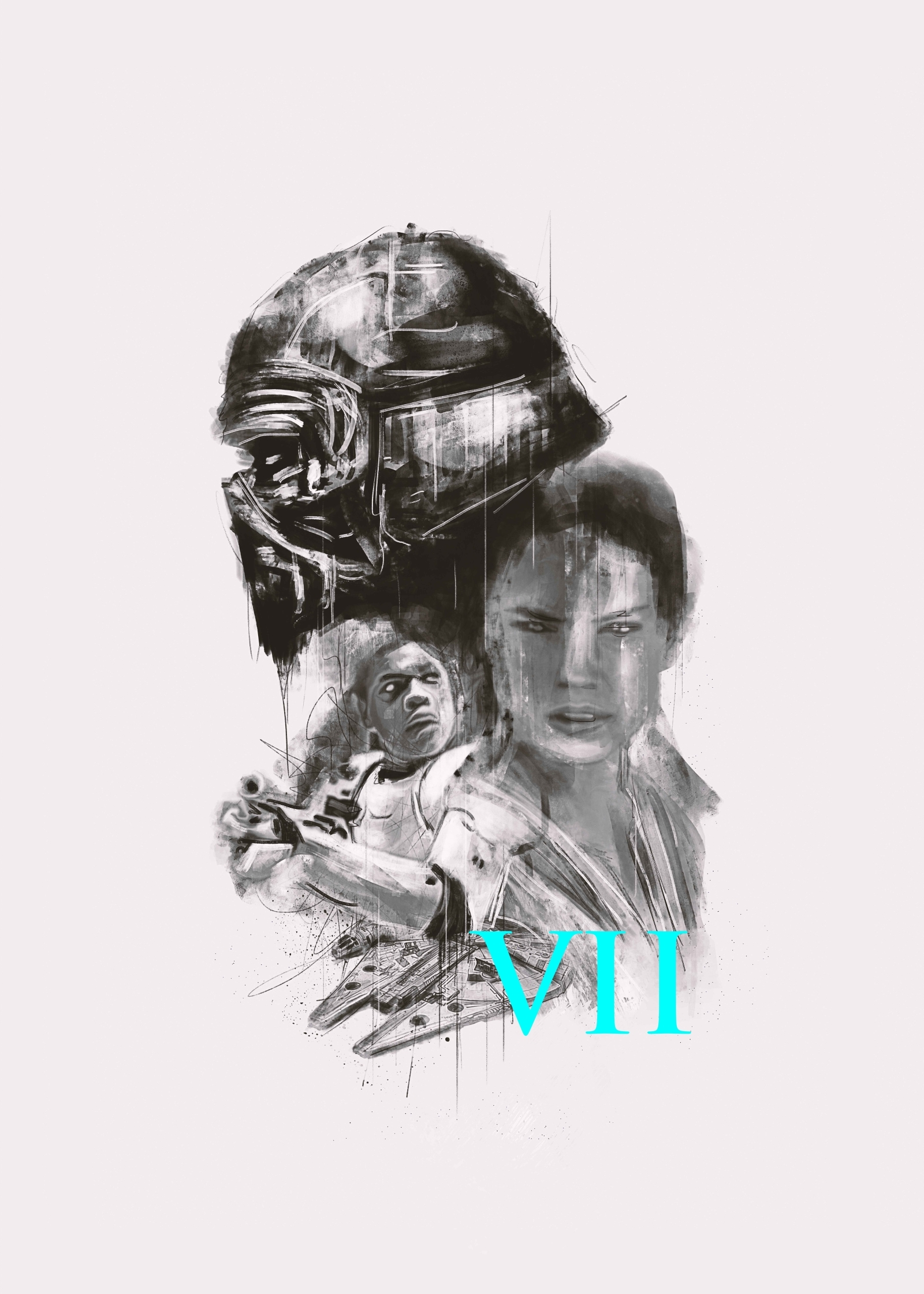 Star Wars The Force Awakens by Rafal Rola