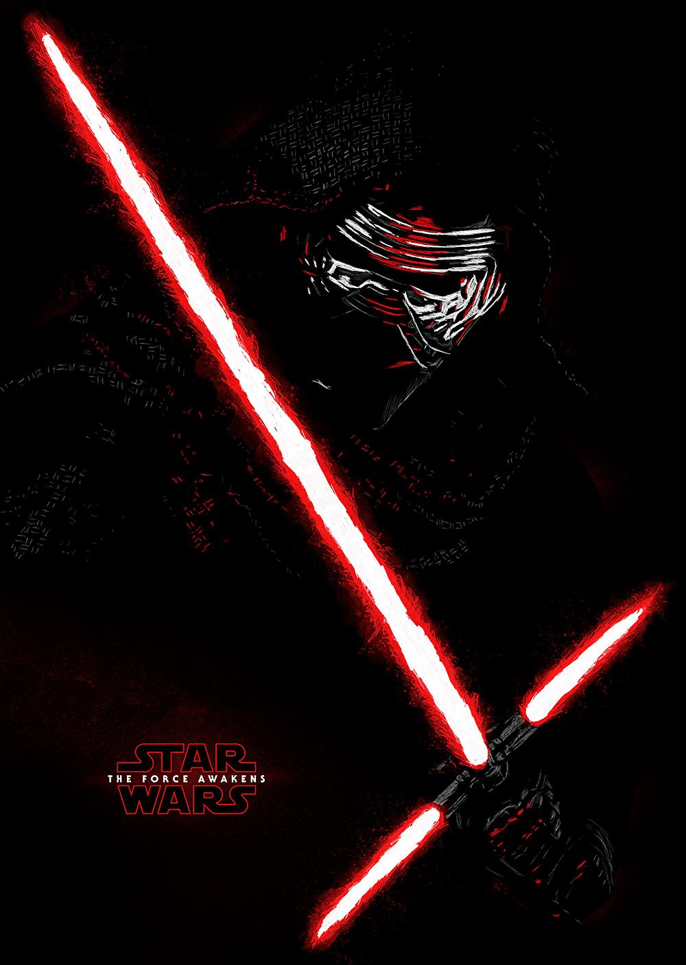 Poster Star Wars Kilo Ren