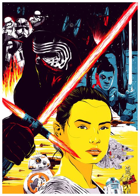 Star Wars The Force Awakens Contest – Poster Entry