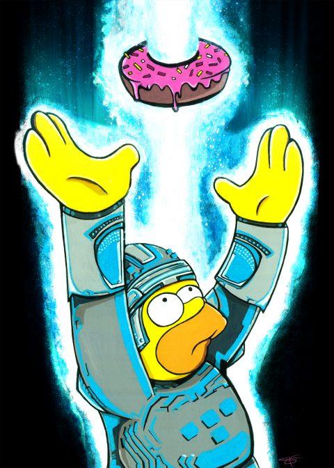 Homer Tron Mashup