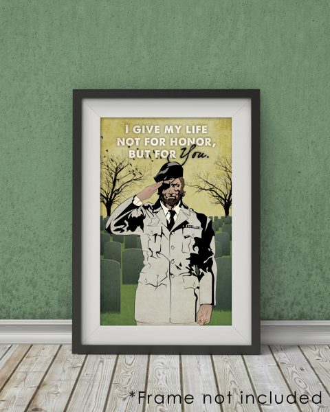 Metal Gear Solid 3 Snake Eater-Inspired Poster – Video Games, Fan Art