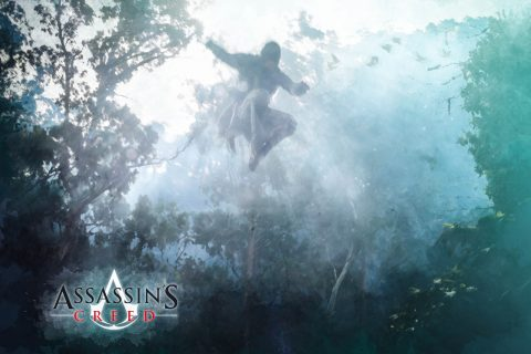 Assassin's Creed Poster Concept Art