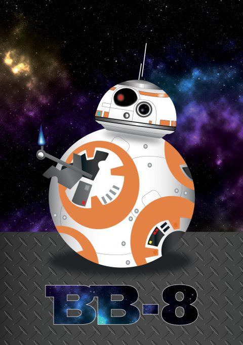 Star Wars BB-8 Print