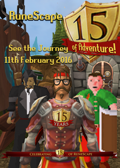 DedSec Sammy's Poster Entry for Runescape's 15th Anniversary FIlm
