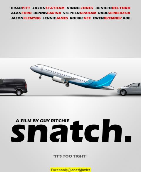 Snatch minimalist poster