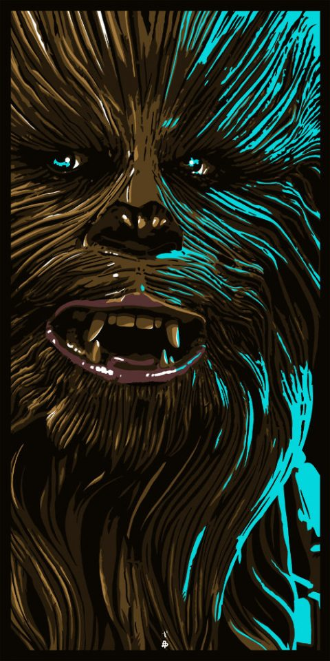 STAR WARS – AN ART ODYSSEY. NO TIME TO UPSET A WOOKIE.