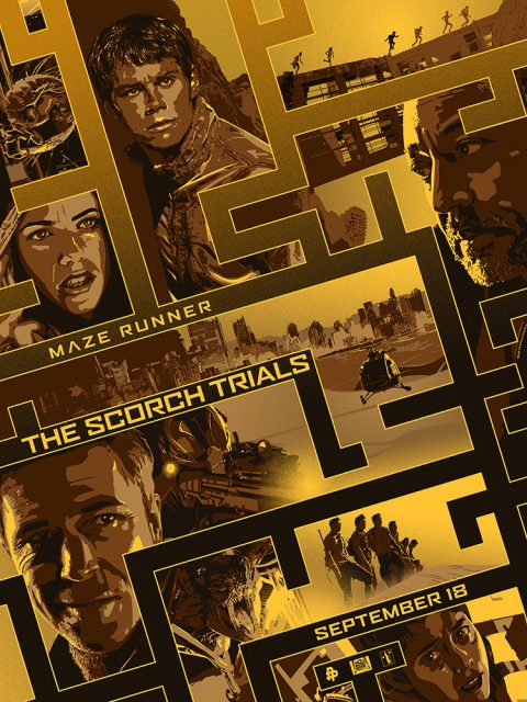 MAZE RUNNER – THE SCORCH TRIALS.