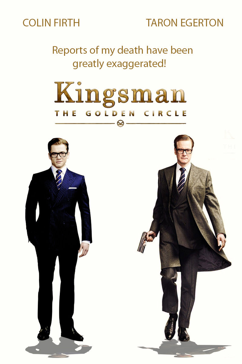 「kingsman the golden circle poster」の画像検索結果