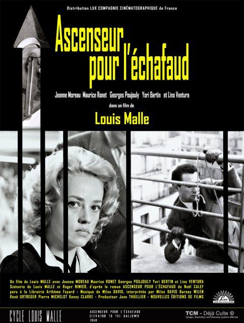 Ascenseur Pour L'échafaud (Elevator To The Gallows) 1958 Louis Malle