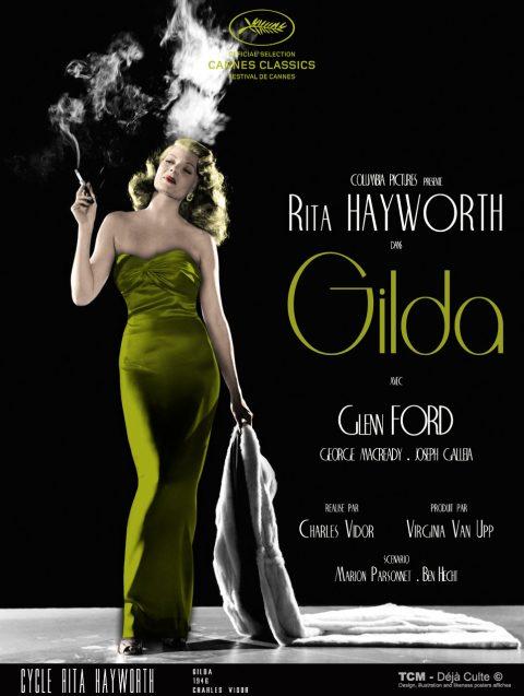Gilda 1946 Charles Vidor, Rita Hayworth, Rita Hayworth