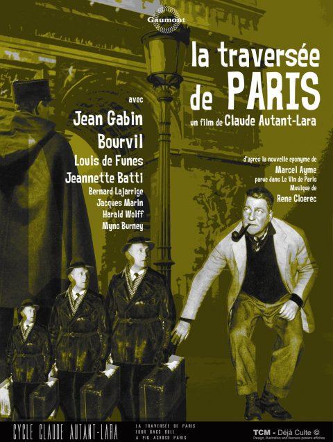 La Traversée de Paris (Four Bags Bull • A Pig Across Paris) 1956 Claude Autant-Lara