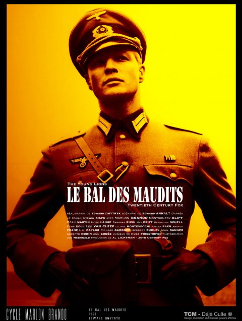 Le Bal Des Maudits (The Young Lions) 1958 Edward Dmytryk