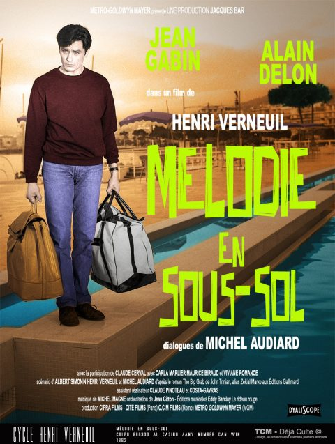 Mélodie En Sous-Sol (Colpo Grosso Al Casino/Any Number Can Win) 1963 Henri Verneuil