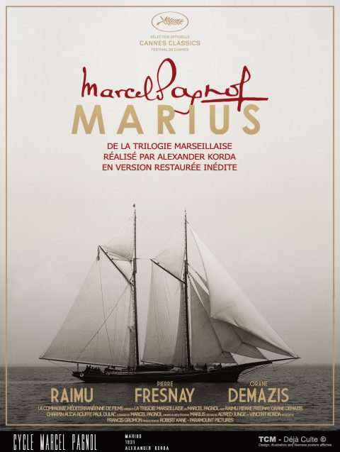 Marius (Marcel Pagnol) 1931 Alexander Korda
