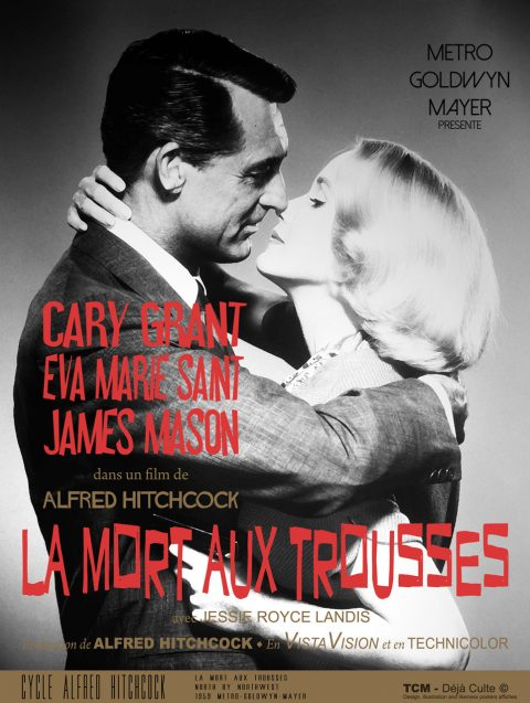 La Mort aux trousses (North by Northwest) 1959 Alfred Hitchcock