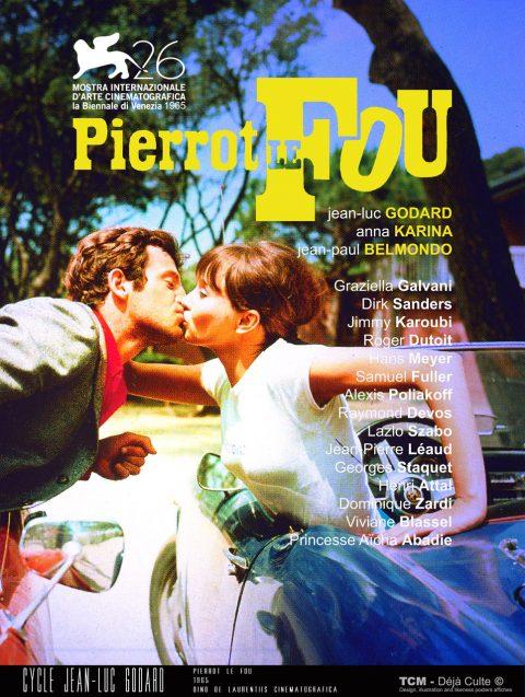 Pierrot le fou 1965 Jean-Luc Godard