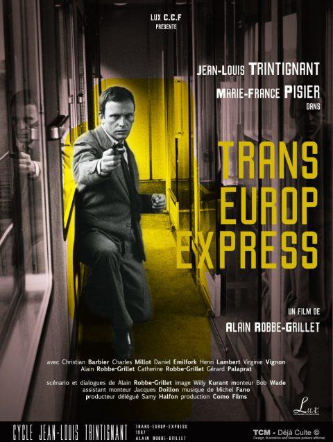 Trans-Europ-Express 1967 Alain Robbe-Grillet