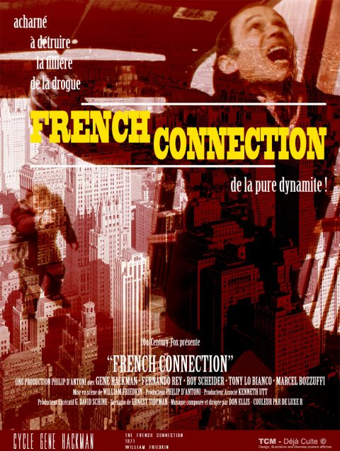 French Connection (The French Connection) 1971 William Friedkin