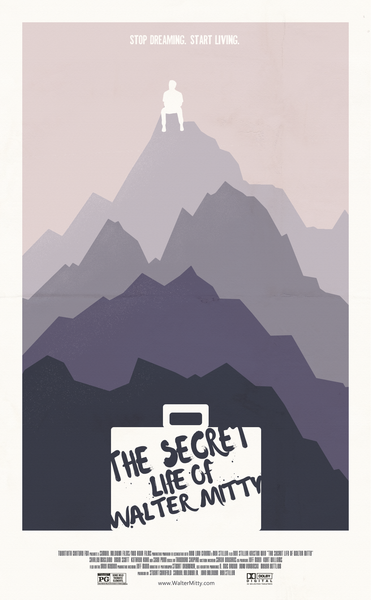 The Secret Life Of Walter Mitty 2013 Posterspy