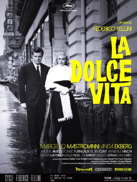 La Dolce Vita 1960 Federico Fellini