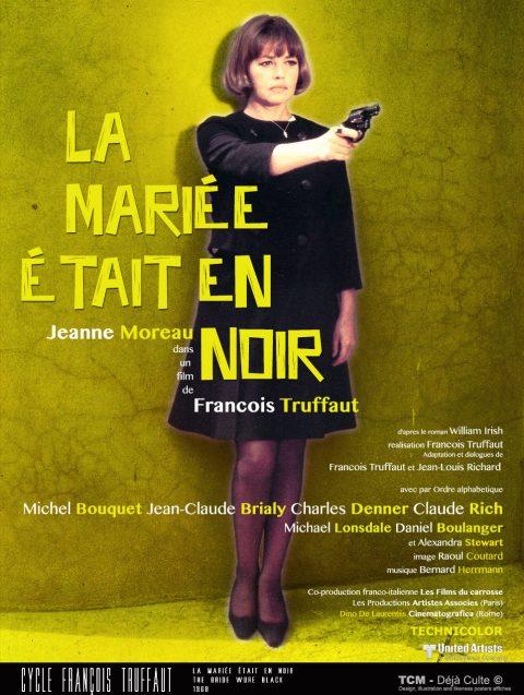 La Mariée Était En Noir (The Bride Wore Black) 1968 François Truffaut