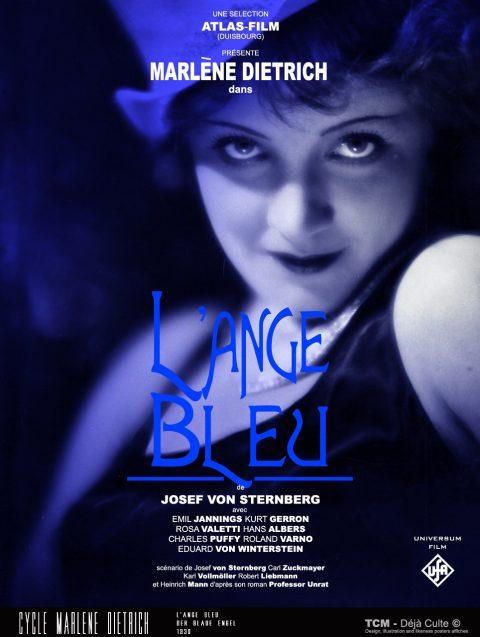 L'ange Bleu (Der Blaue Engel) 1930 Josef Von Sternberg