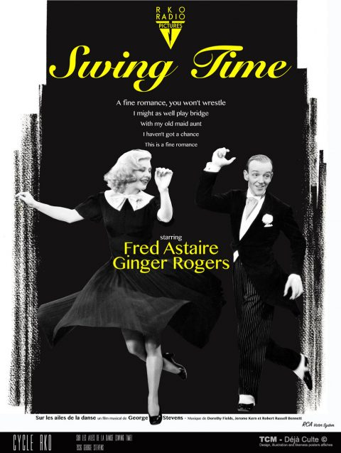 Sur Les Ailes De La Danse (Swing Time) 1936 George Stevens