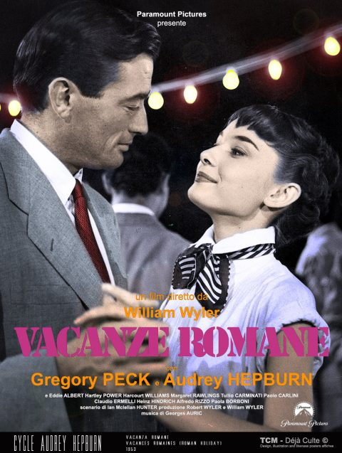 Vacanze Romane (Vacances Romaines /Roman Holiday) 1953 William Wyler