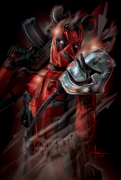 The Force Awakens Deadpool