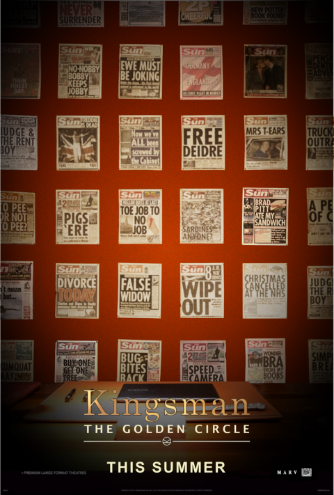 Kingsman: The Golden Circle teaser poster