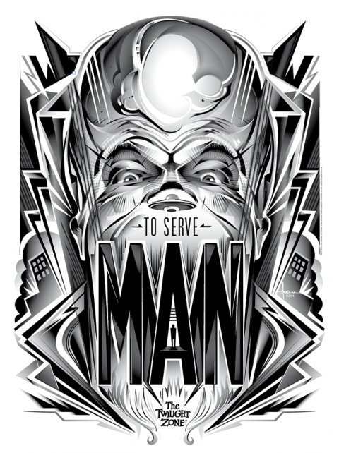 Twilight Zone – To Serve Man