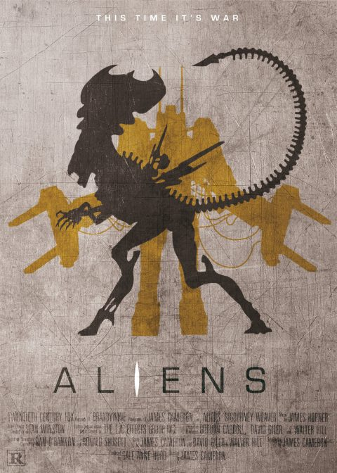 Aliens – Custom Movie Poster