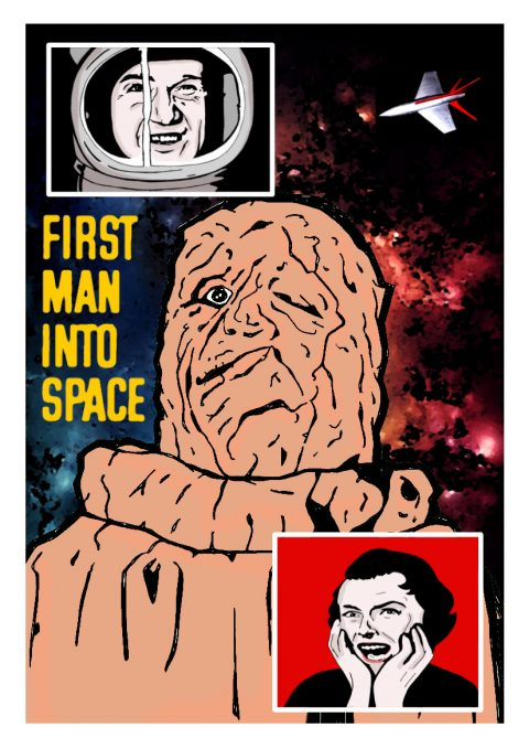 First Man into Space.