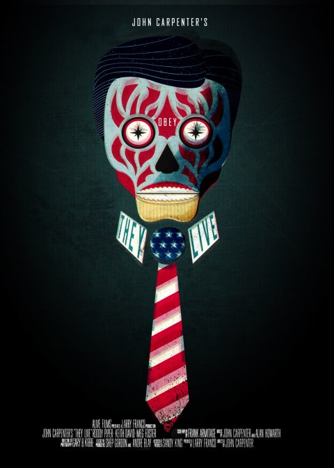 They Live – Custom Movie Poster