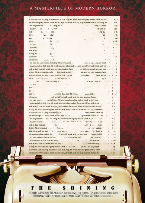 The Shining – Custom Movie Poster