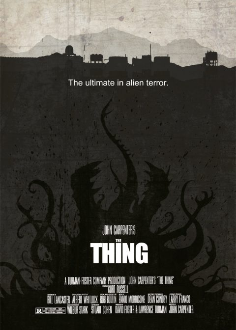 The Thing – Custom Movie Poster