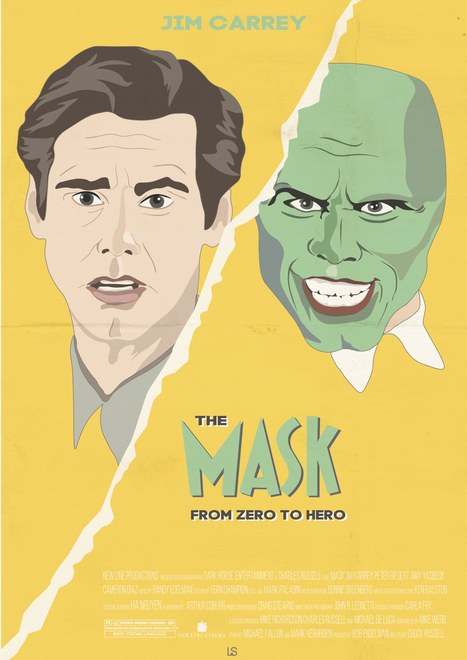 The Mask 1994 Posterspy