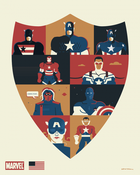 Captain America & Co.