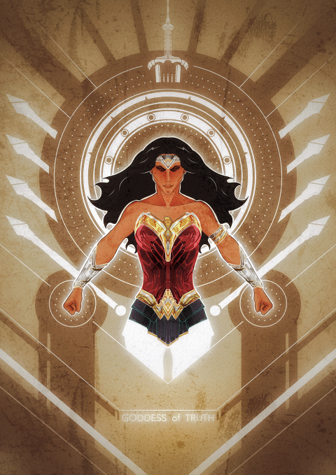 Wonder Woman – the Goddess of Truth