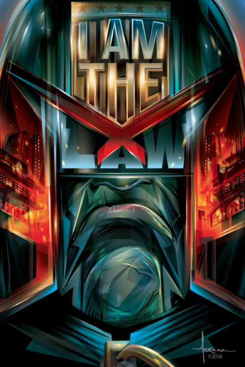 I AM THE LAW- Judge Dredd