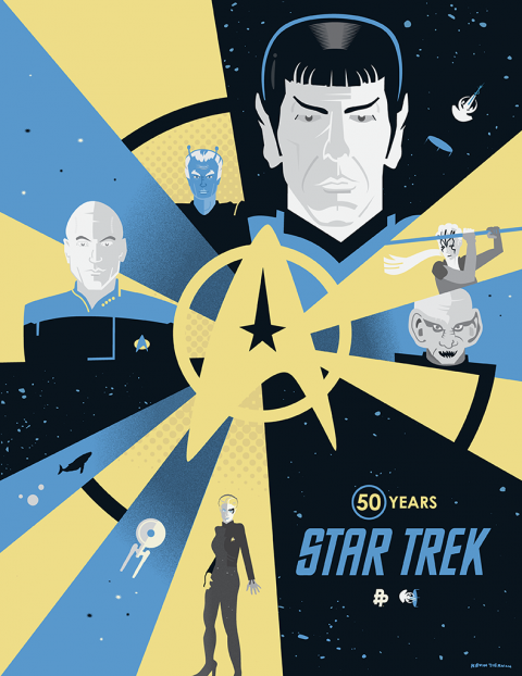 Star Trek 50 Years (Poster Posse)
