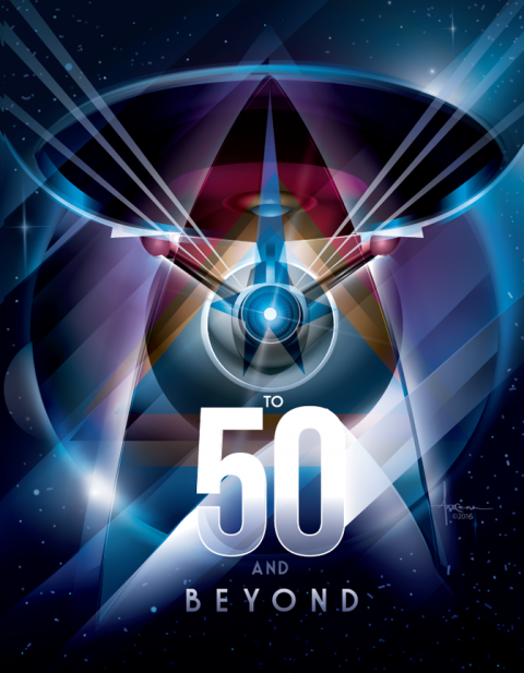 STAR TREK – To 50 and Beyond