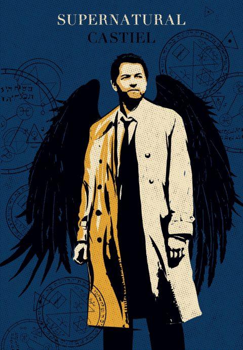 Castiel Supernatural