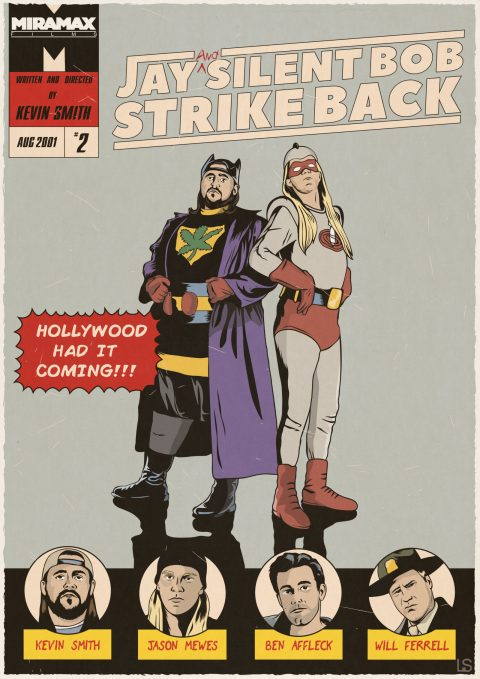 Jay and Silent Bob strike back, 2011.