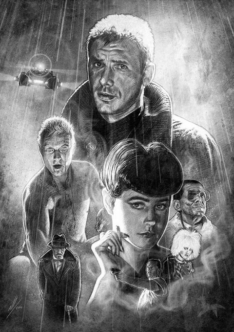 Blade Runner B&W